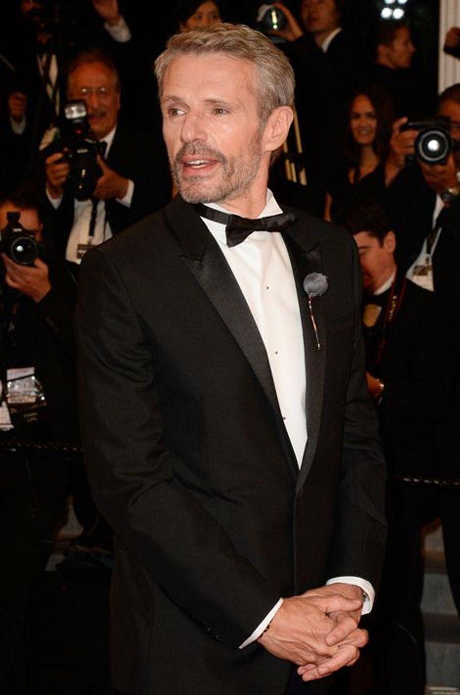 Lambert Wilson à Cannes le 14 mai 2015