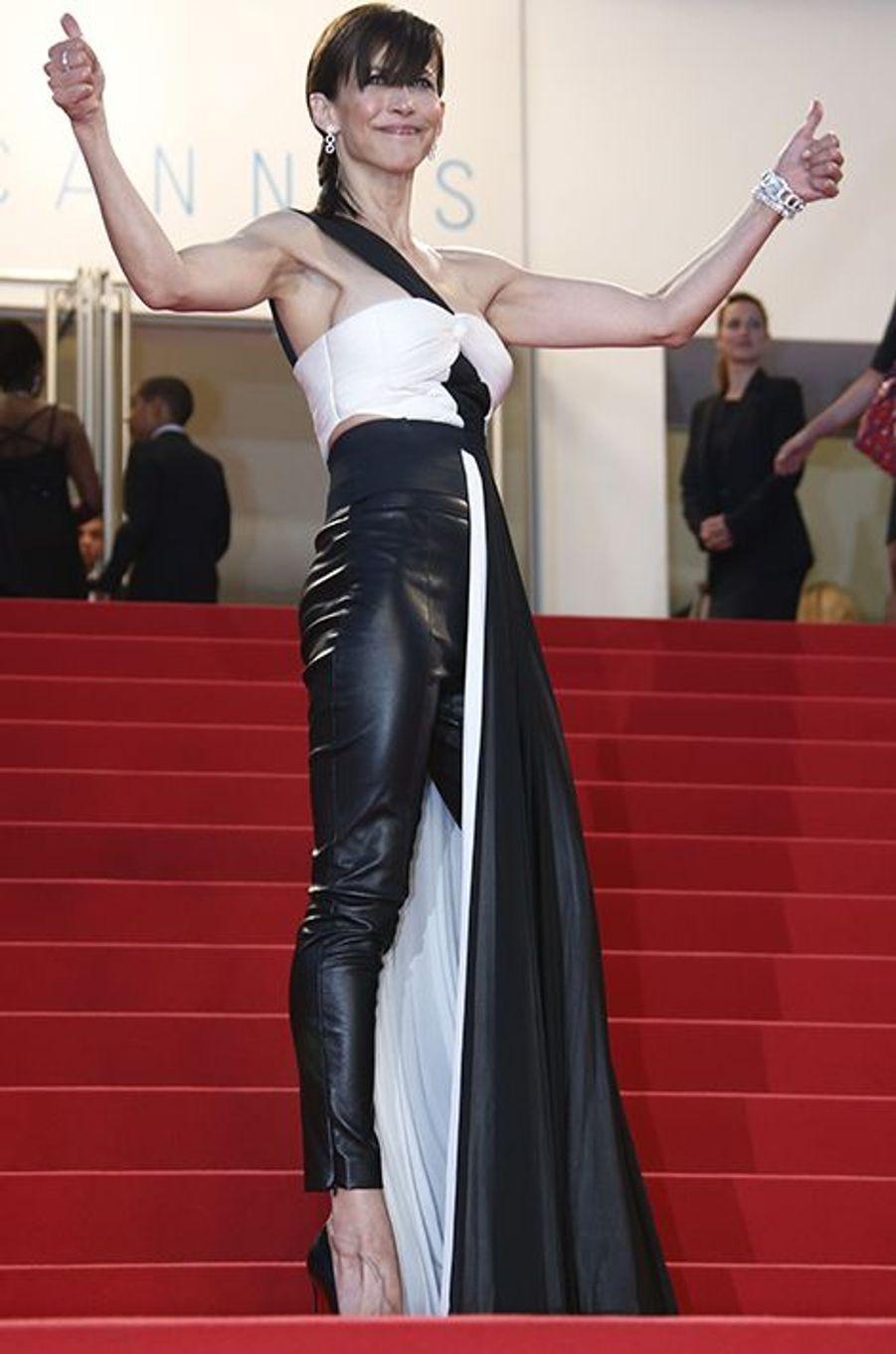 Sophie Marceau à Cannes le 16 mai 2015