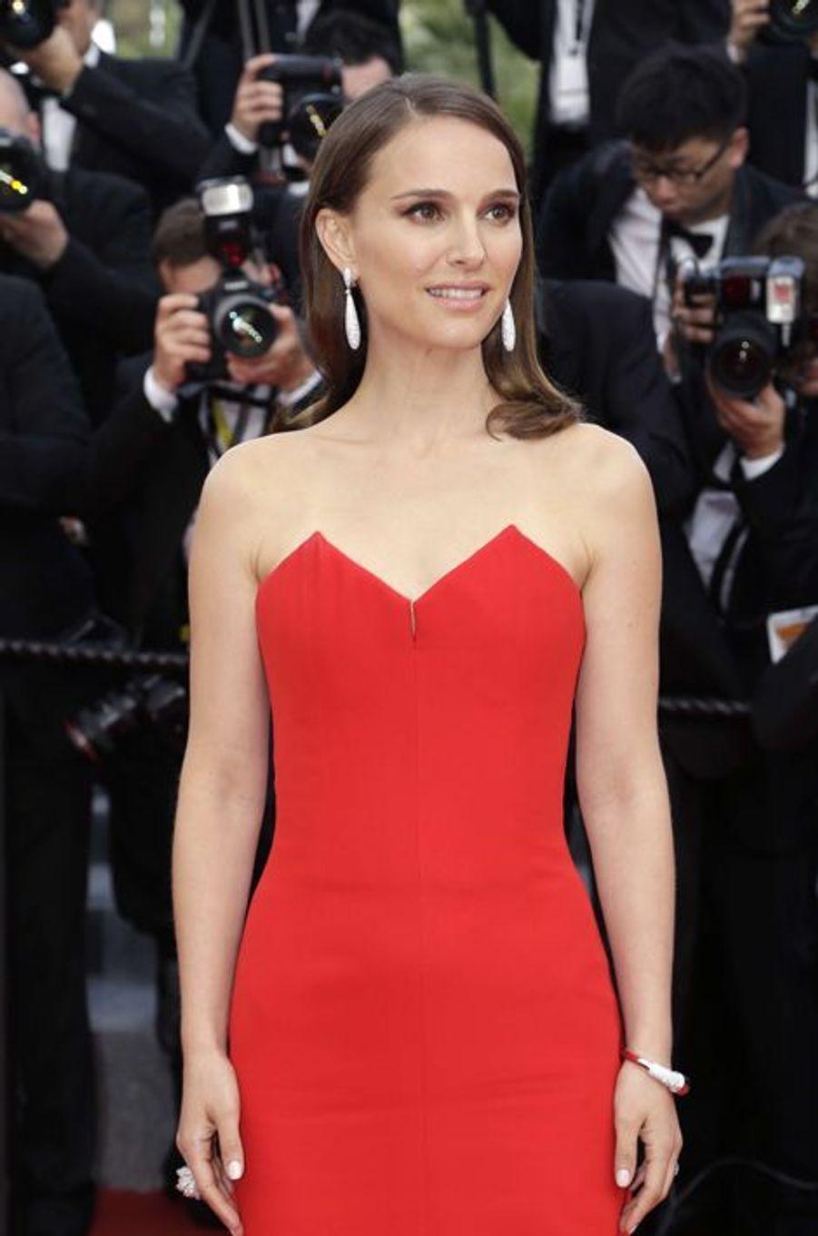 Natalie Portman à Cannes le 13 mai 2015