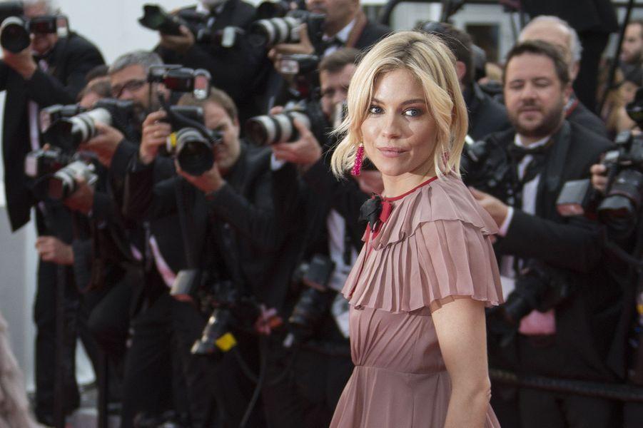 Sienna Miller à Cannes le 23 mai 2015