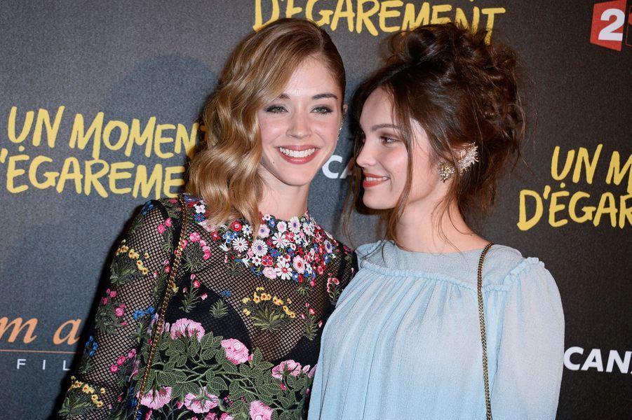 Alice Isaaz et Lola Le Lann