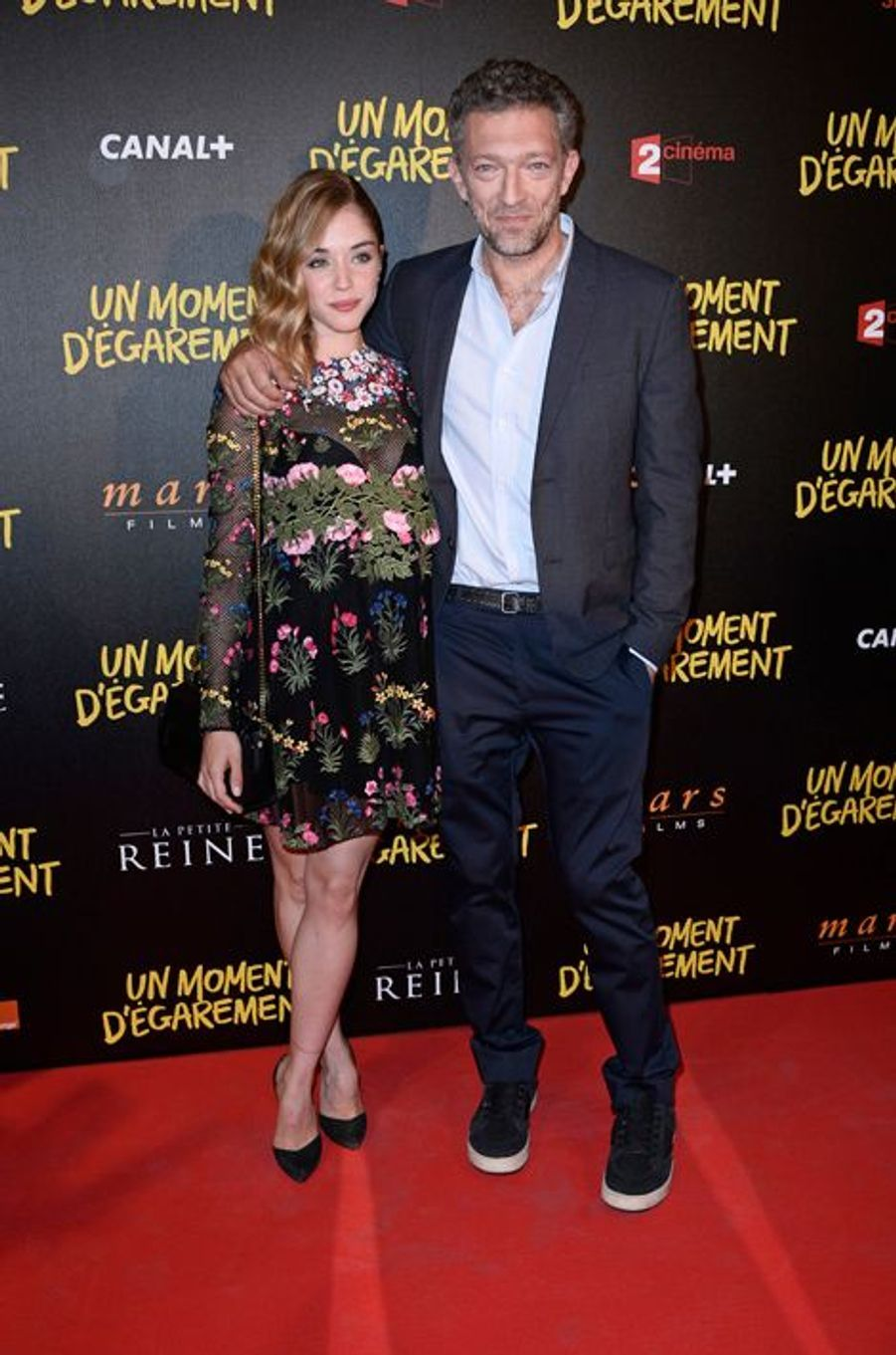 Alice Isaaz et Vincent Cassel