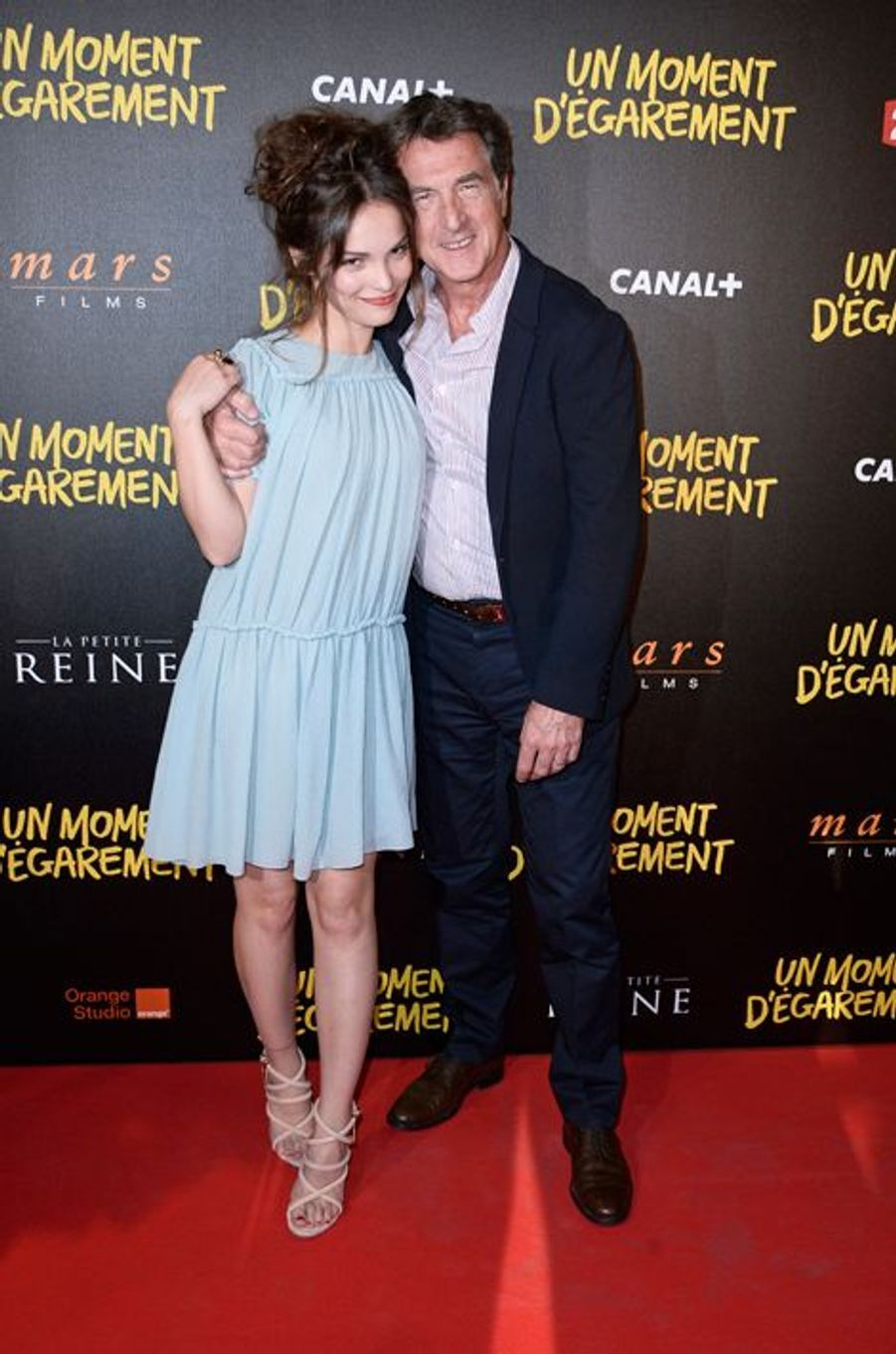 Lola Le Lann et François Cluzet