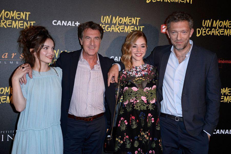 Lola Le Lann, François Cluzet, Alice Isaaz et Vincent Cassel