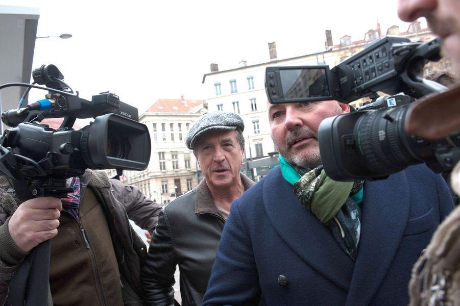 François Cluzet à Lyon le 16 décembre 2014