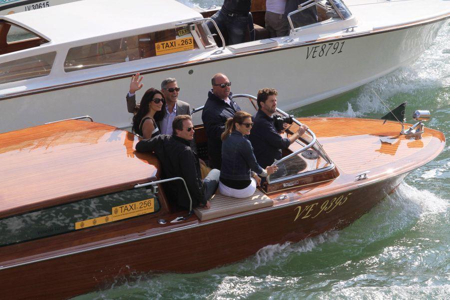 George Clooney et Amal, si romantiques à Venise