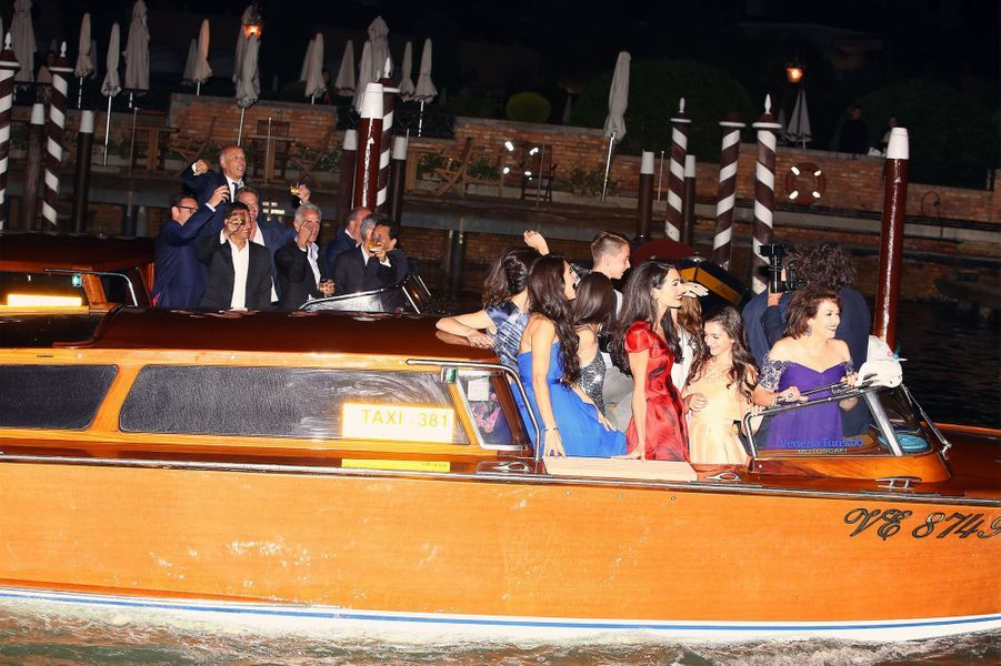 Les bateaux d'Amal et George Clooney