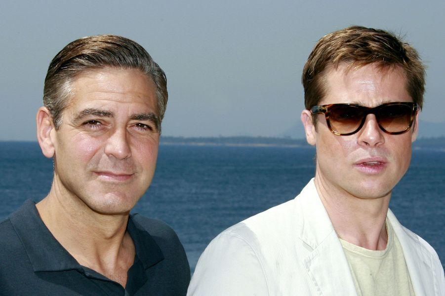 George Clooney et Brad Pitt, amis pour la vie
