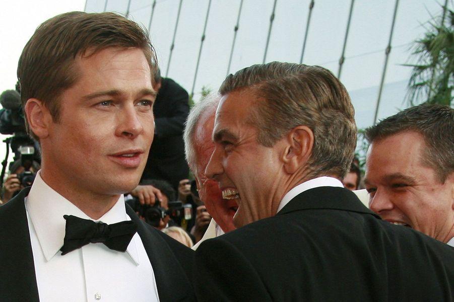 A l'avant-première mondiale d'«Ocean's Thirteen» au Festival de Cannes en mai 2007.