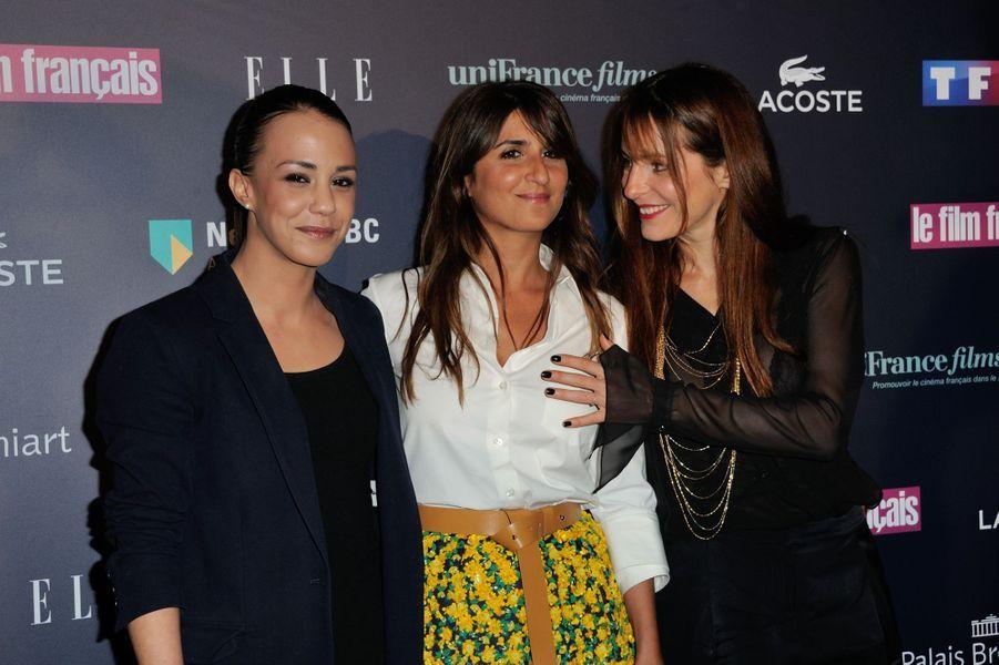 Alice Belaïdi, Géraldine Nakache et Audrey Dana