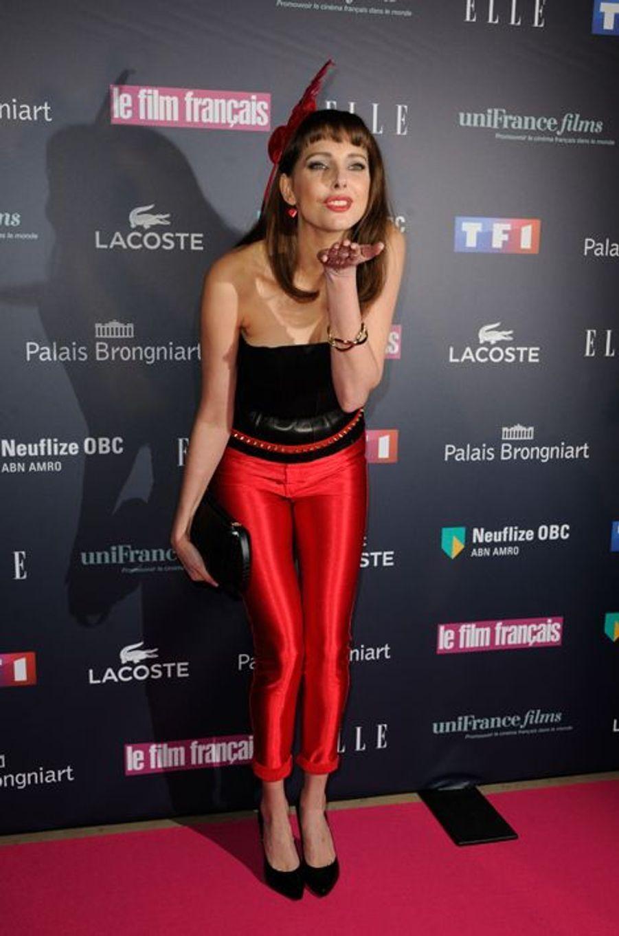 Frédérique Bel aux Trophées du Film Français
