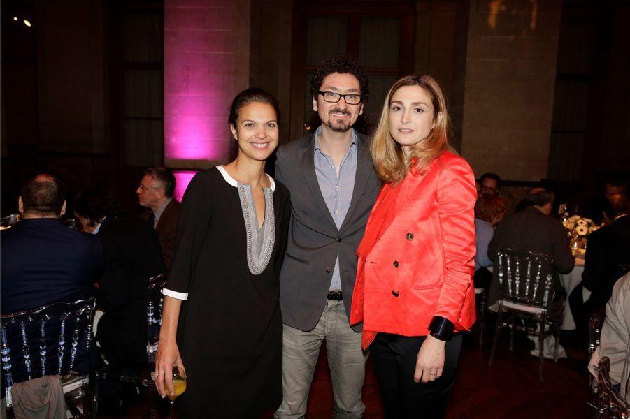 Isabelle Giordano, David Foenkinos et Julie Gayet