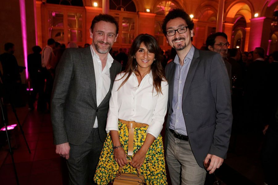 Jean-Paul Rouve, Géraldine Nakache and David Foenkinos