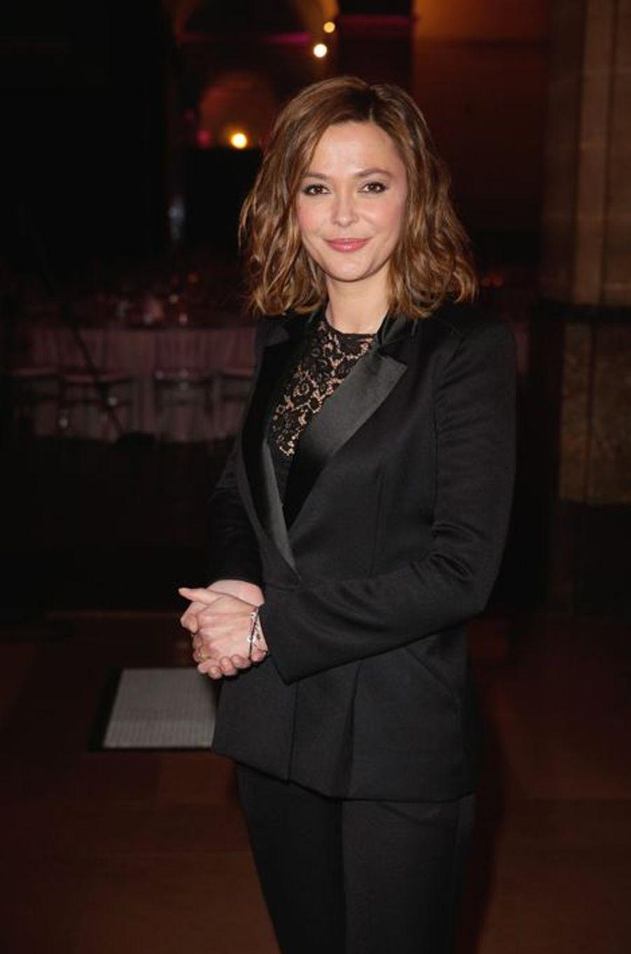 Sandrine Quetier aux Trophées du Film Français
