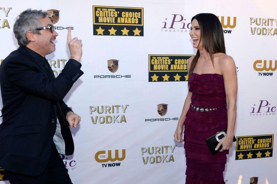 """Lui a été élu meilleur réalisateur pour """"Gravity"""" et elle, meilleure actrice dans un film d'action."""