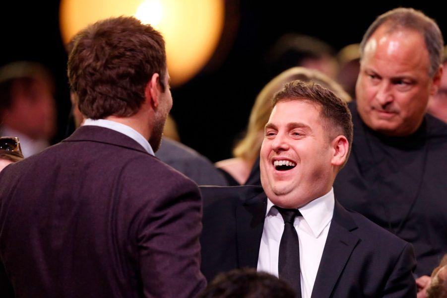 Jonah Hill et Bradley Cooper