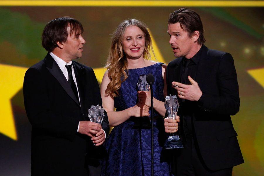 """La belle française a remporté leLouis XIII Genius Award pour """"Before Midnight""""."""