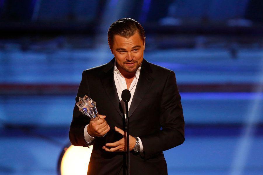 """Il a gagné le prix du meilleur acteur dans une comédie pour """"Le Loup de Wall Street""""."""