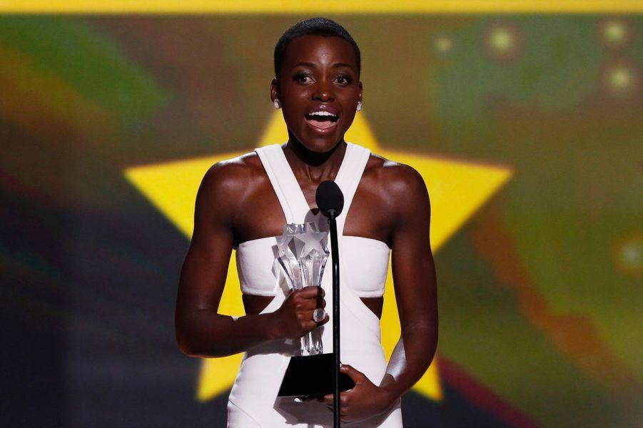 """Elle a remporté le prix de la meilleure actrice dans un second rôle pour""""12 Years a Slave""""."""