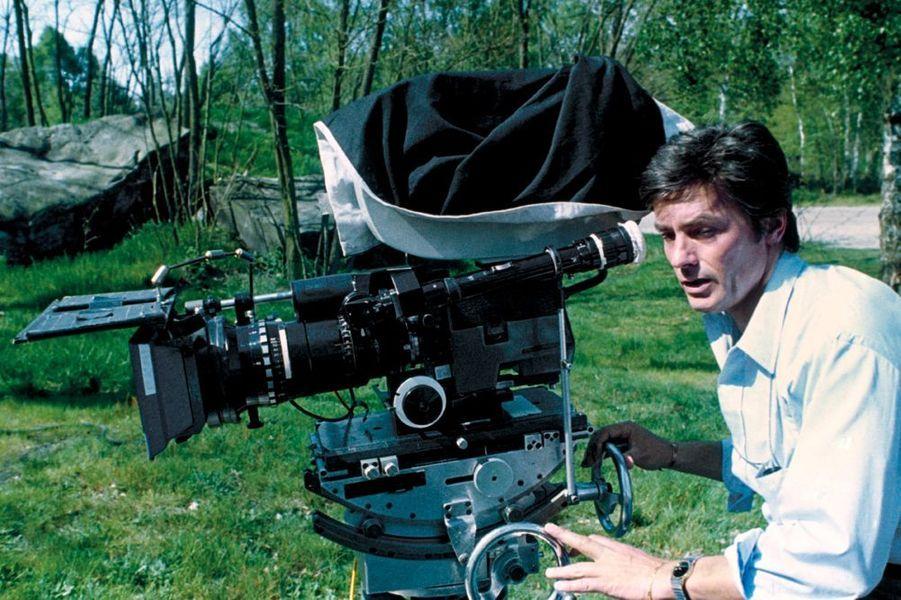 """Sur le tournage de """"Pour la peau d'un flic"""", 1981"""