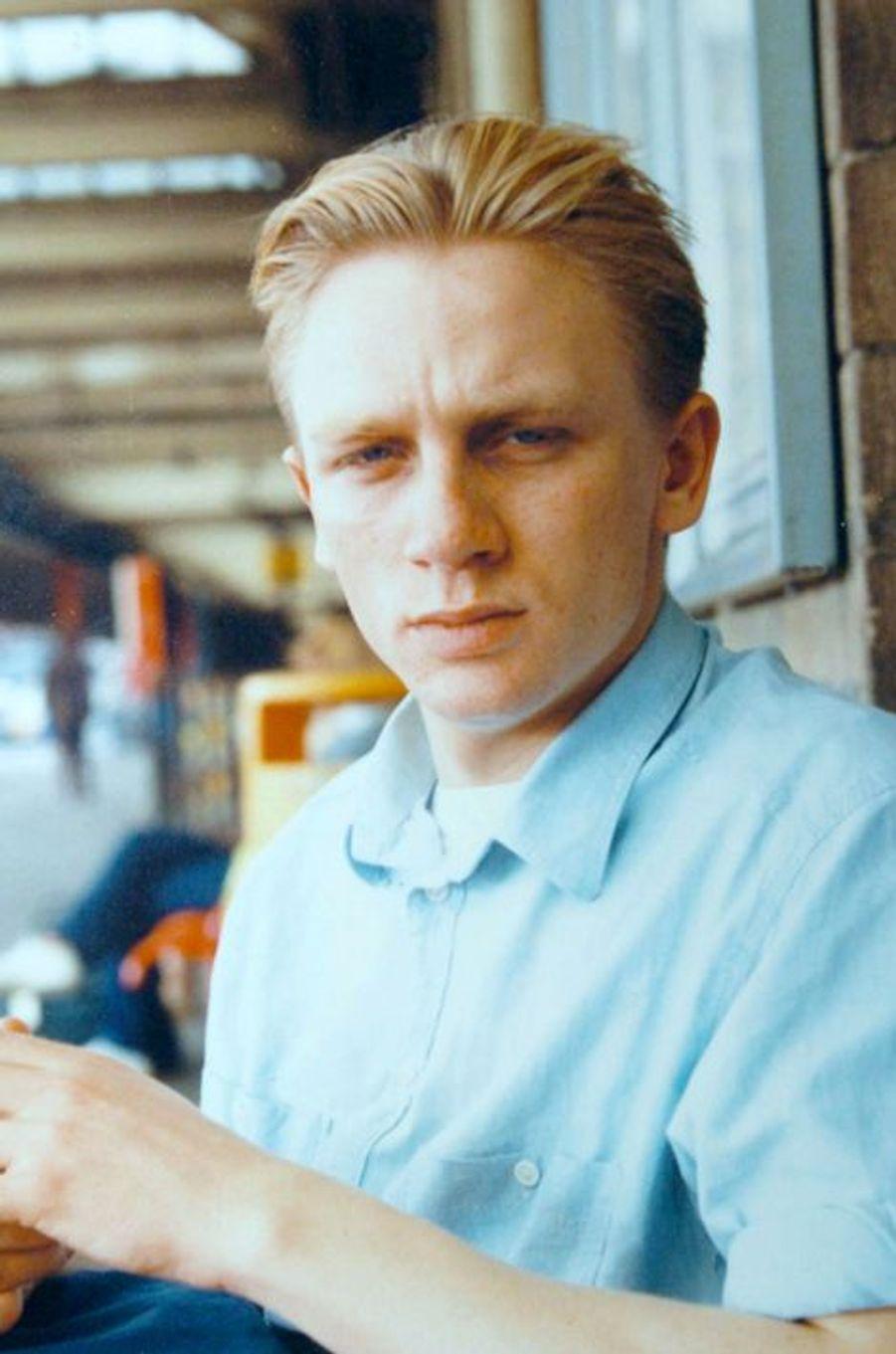 Daniel Craig à Brighton. Il a 17 ans.