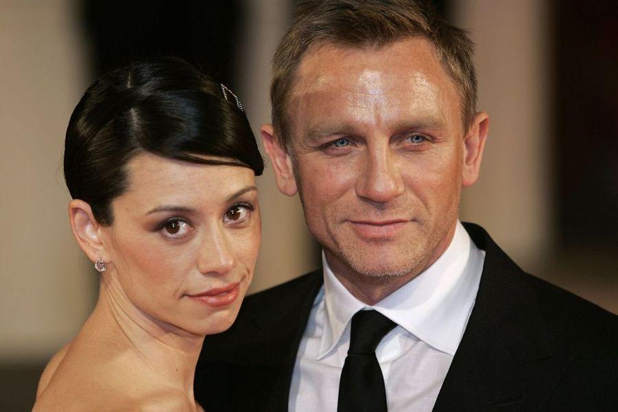 Daniel Craig avec Satsuki Mitchell à Londres, juillet 2007