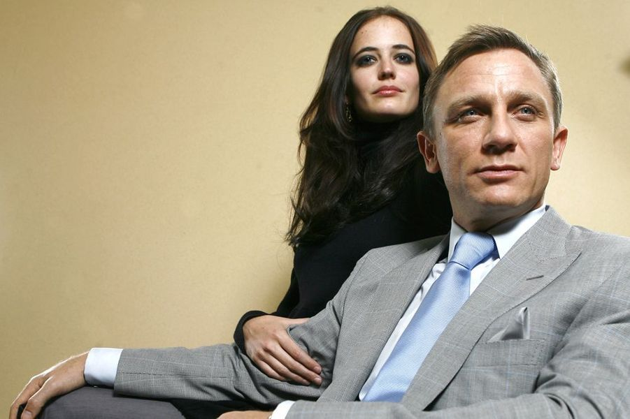 "Daniel Craig et Eva Green dans ""Casino Royale"", 2006"