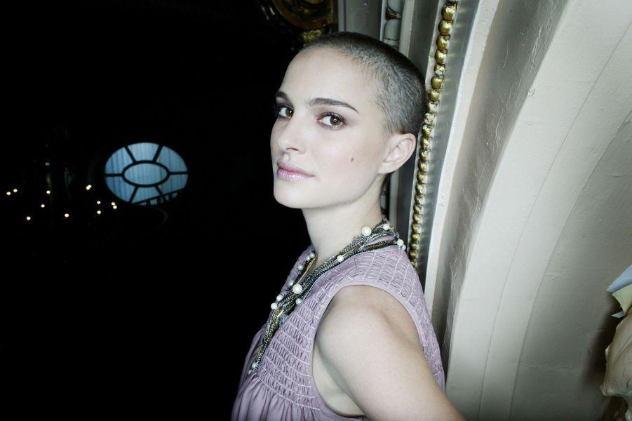 Natalie Portman pose pour Paris Match, 2005