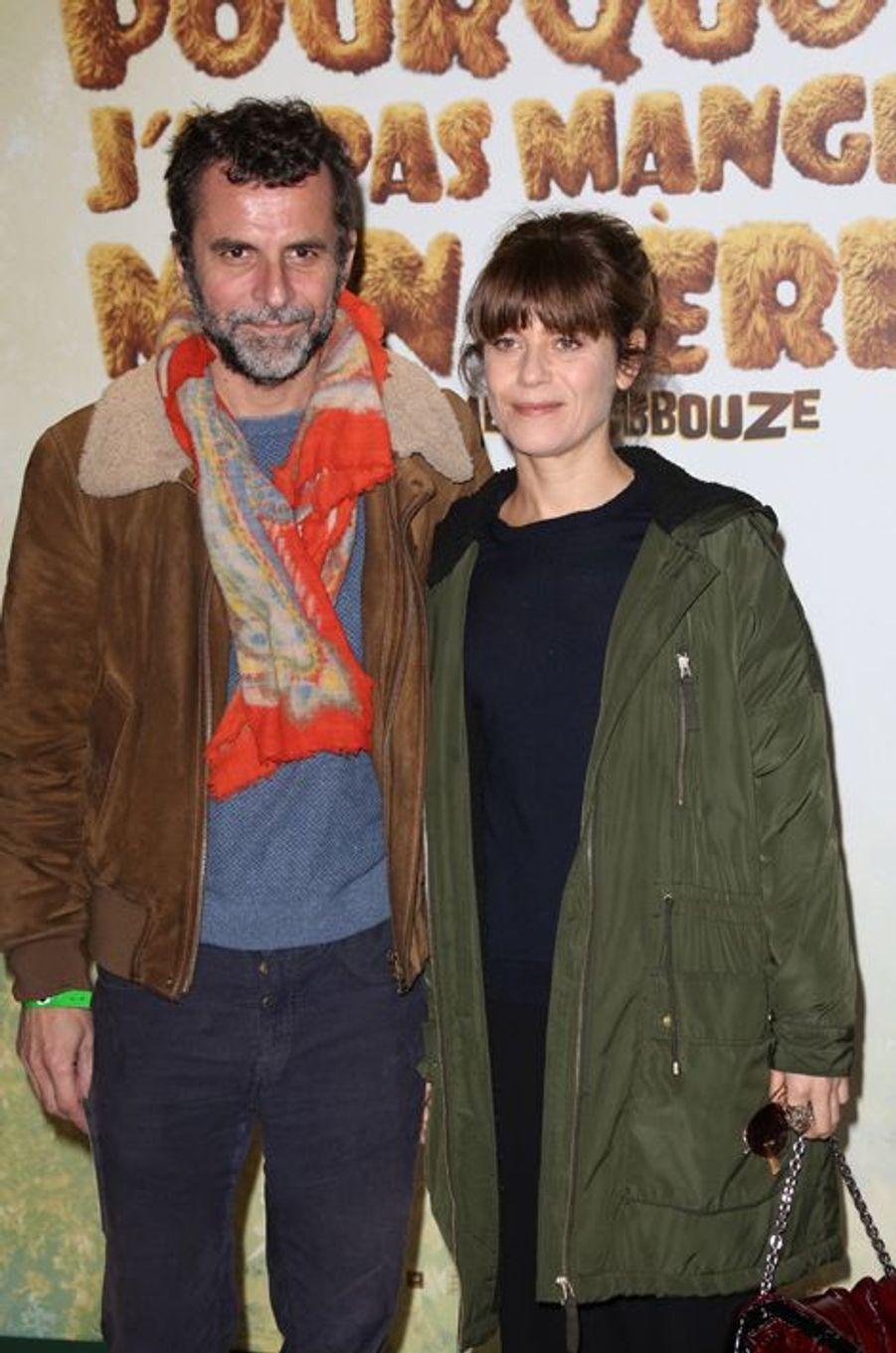 Eric Lartigau et Marina Foïs à Paris le 29 mars 2015