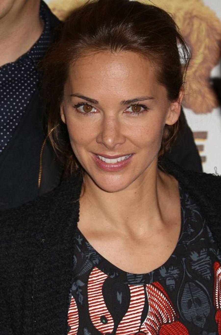 Mélissa Theuriau à Paris le 29 mars 2015