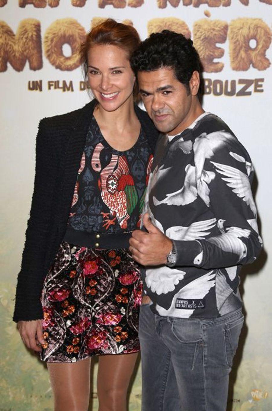 Mélissa Theuriau et Jamel Debbouze à Paris le 29 mars 2015