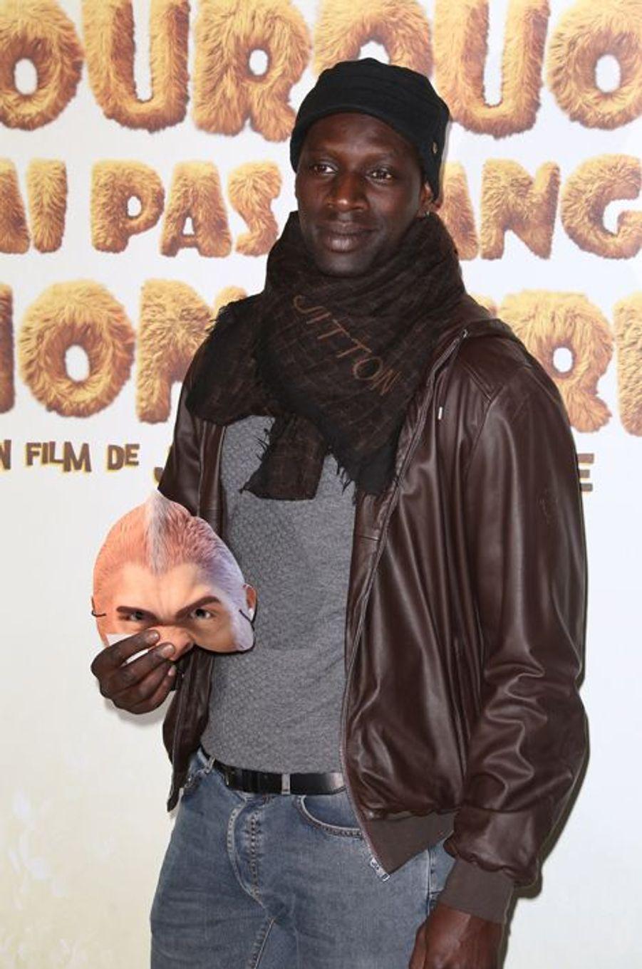Omar Sy à Paris le 29 mars 2015