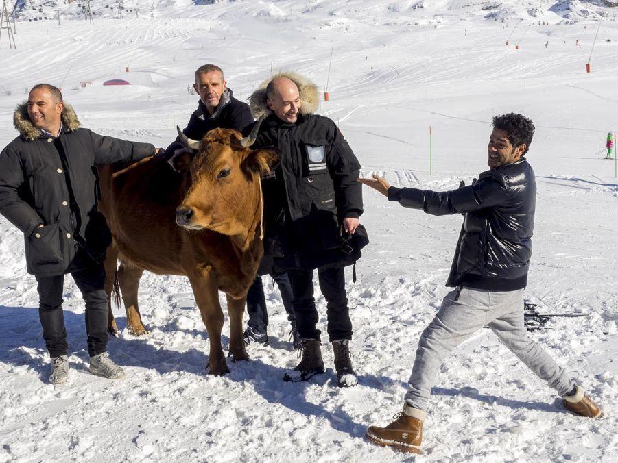 """Jamel Debbouze, Mohamed Hamidi, Lambert Wilson, Fatsah Bouyahmed et Jacqueline présentent """"La vache"""""""