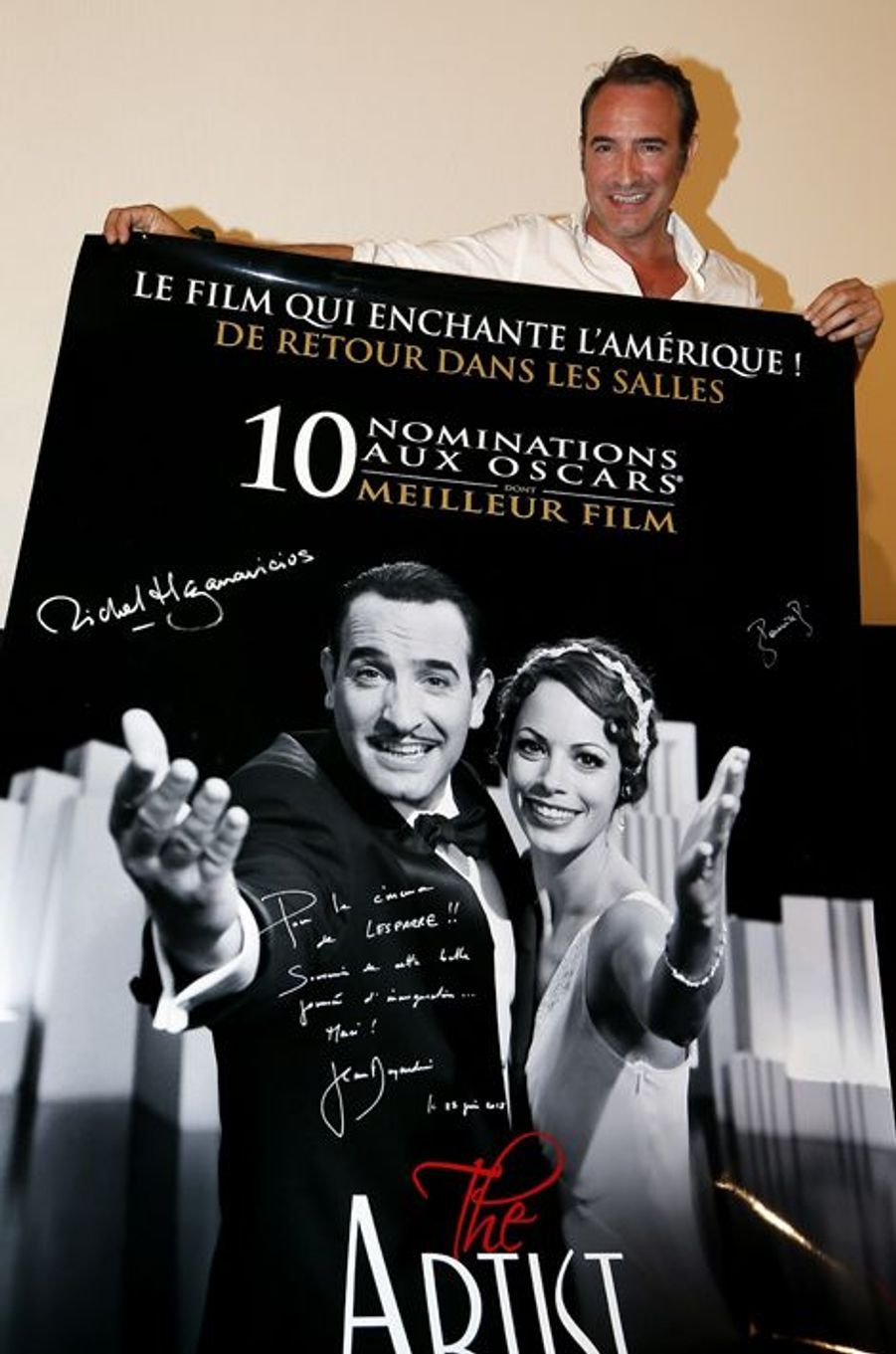 """Jean Dujardin inaugure le """"Cinéma Jean Dujardin"""""""