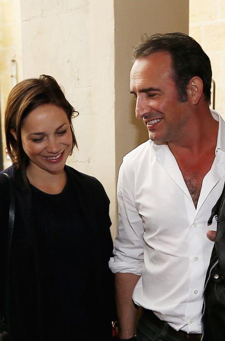 Nathalie Péchalat et Jean Dujardin ne se cachent plus