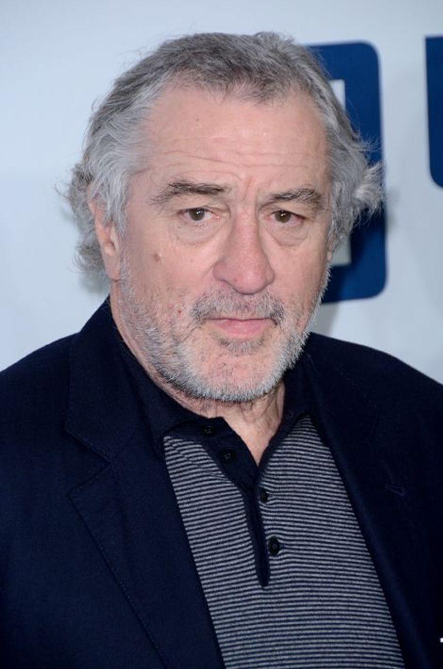 Robert de Niro à New York le 13 décembre 2015