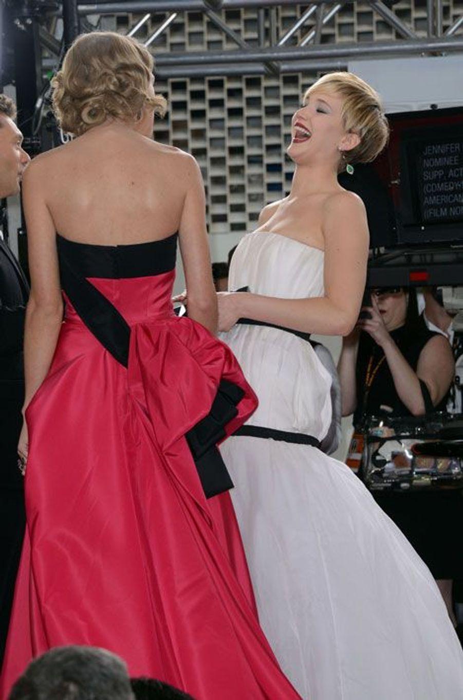 Avec Taylor Swift aux Golden Globes 2014