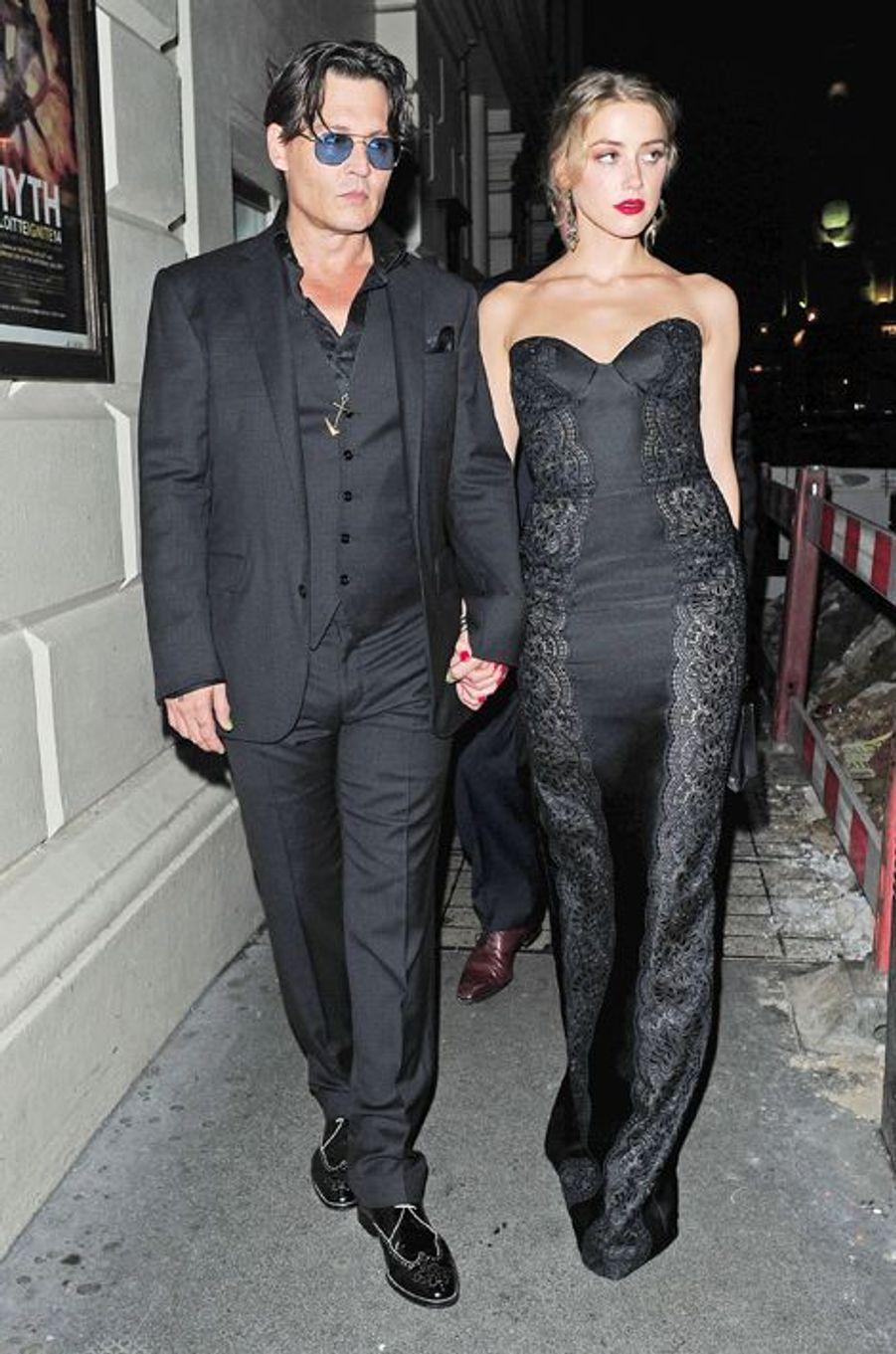 À Londres en septembre 2014, lors de la soirée des GQ Awards