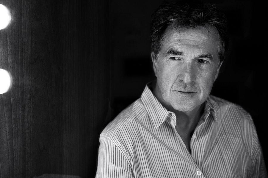 En 2015. L'acteur pose devant l'objectif de Nikos Aliagas, pour Paris Match