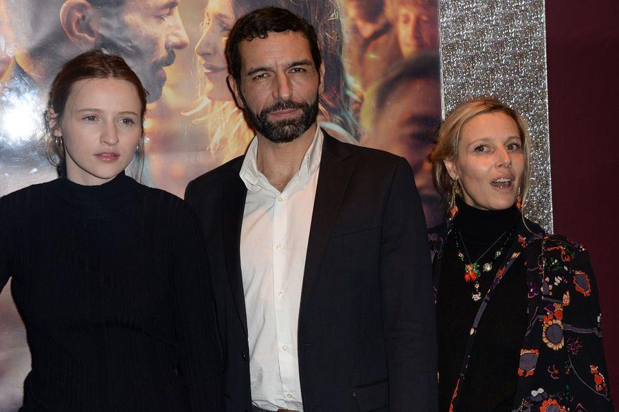 Christa Théret, Olivier Loustau et Florence Thomassin