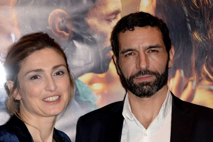 Julie Gayet et Olivier Loustau
