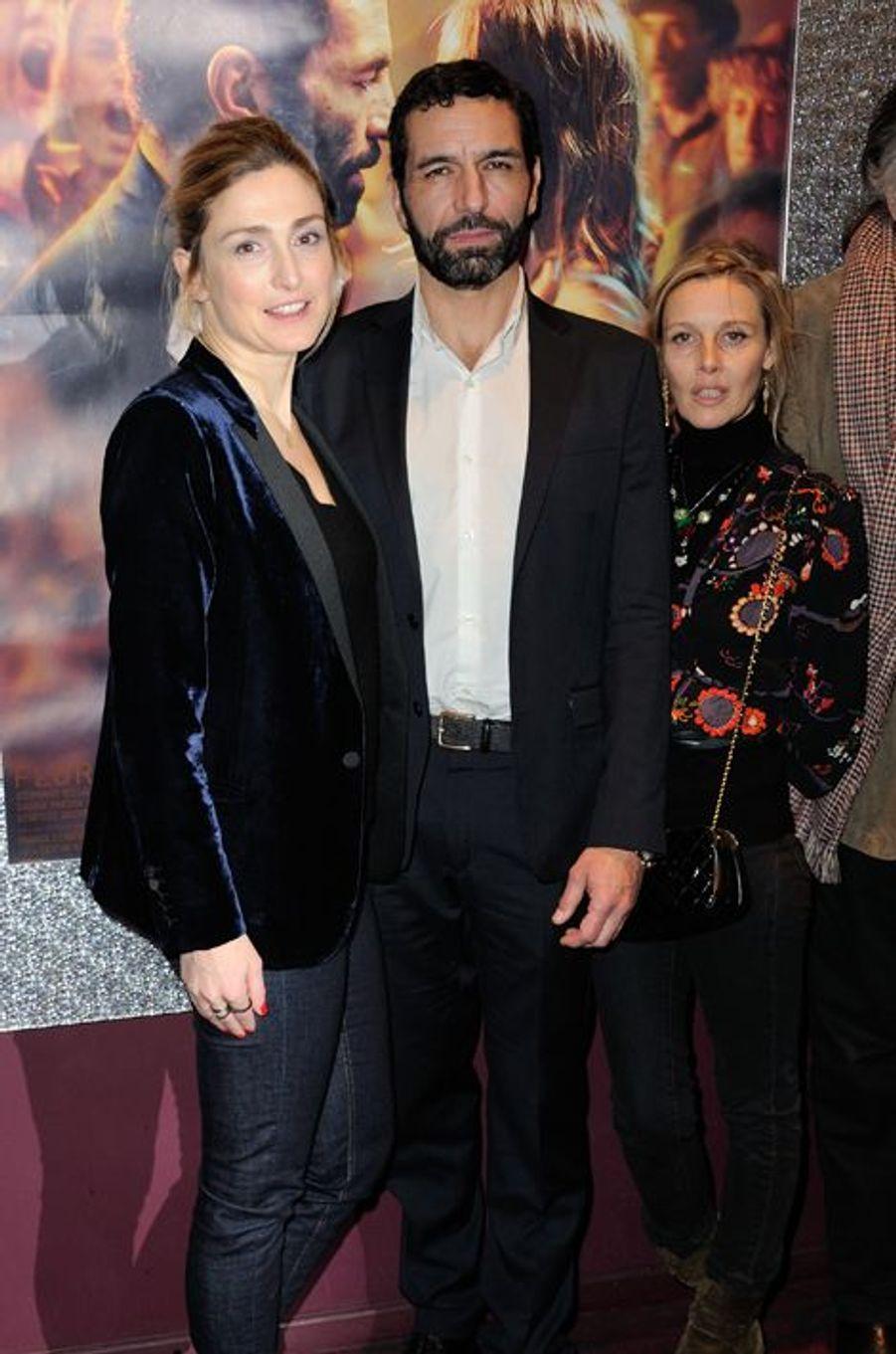 Julie Gayet, Olivier Loustau et Florence Thomassin