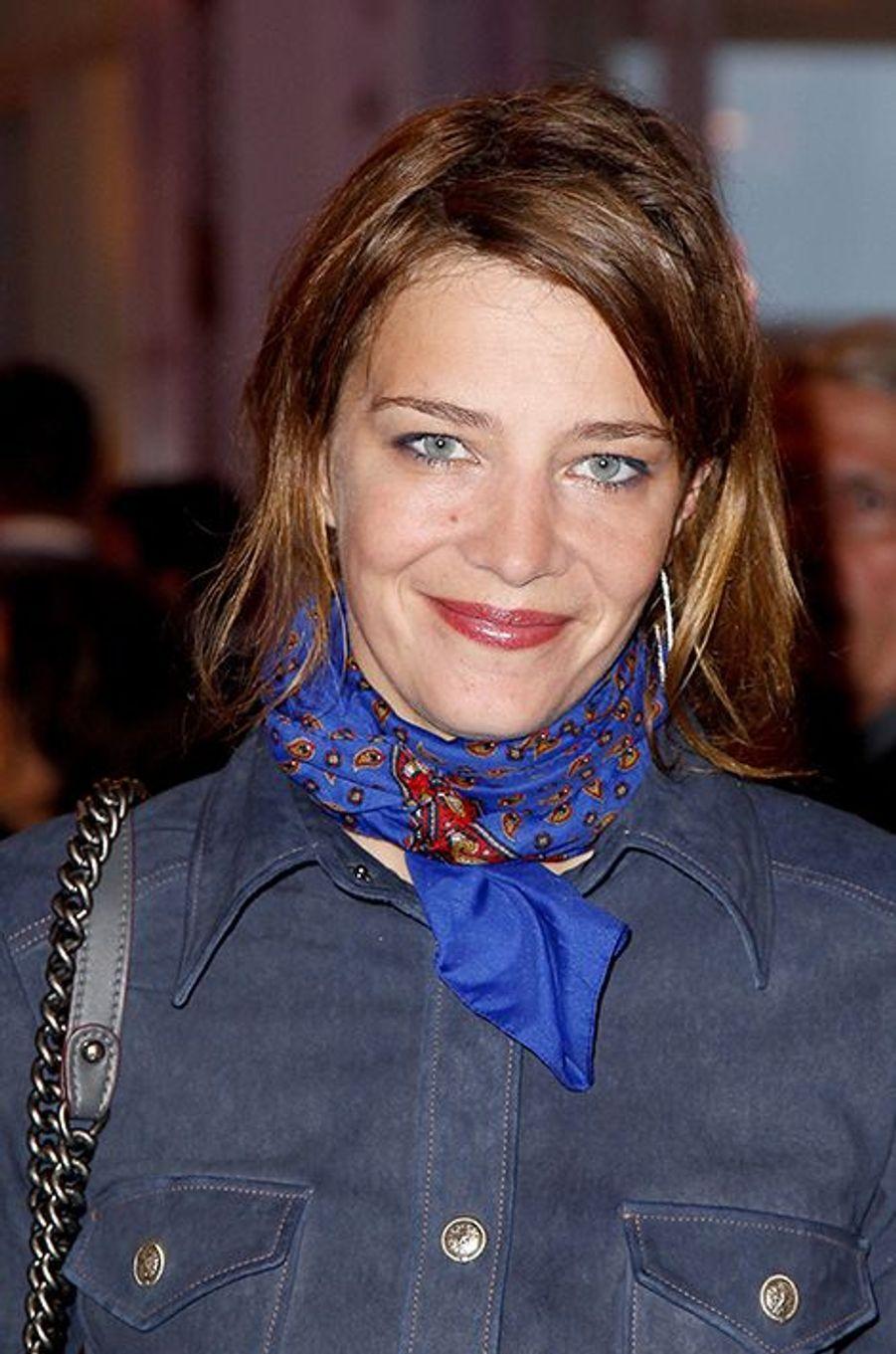 Céline Sallette à Cabourg le 11 juin 2015