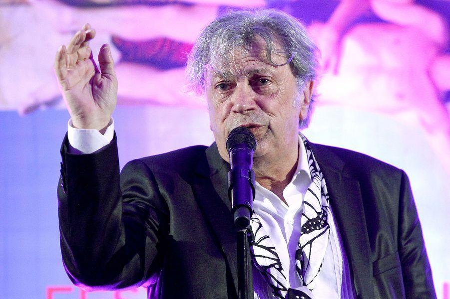 Hervé Vilard à Cabourg le 11 juin 2015