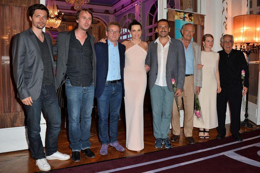 Le jury du Festival du film de Cabourg