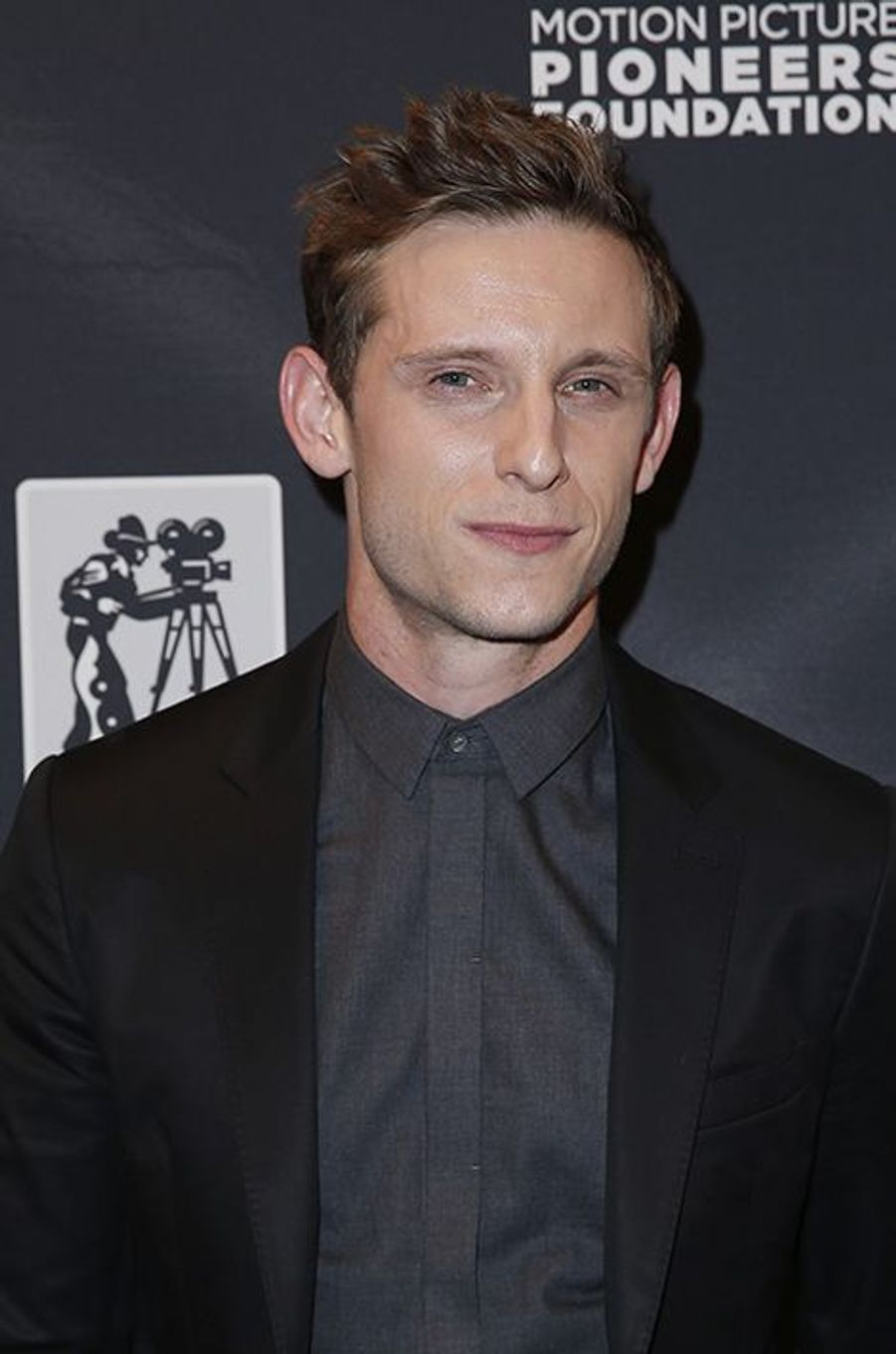 Jamie Bell à New York le 22 avril 2015