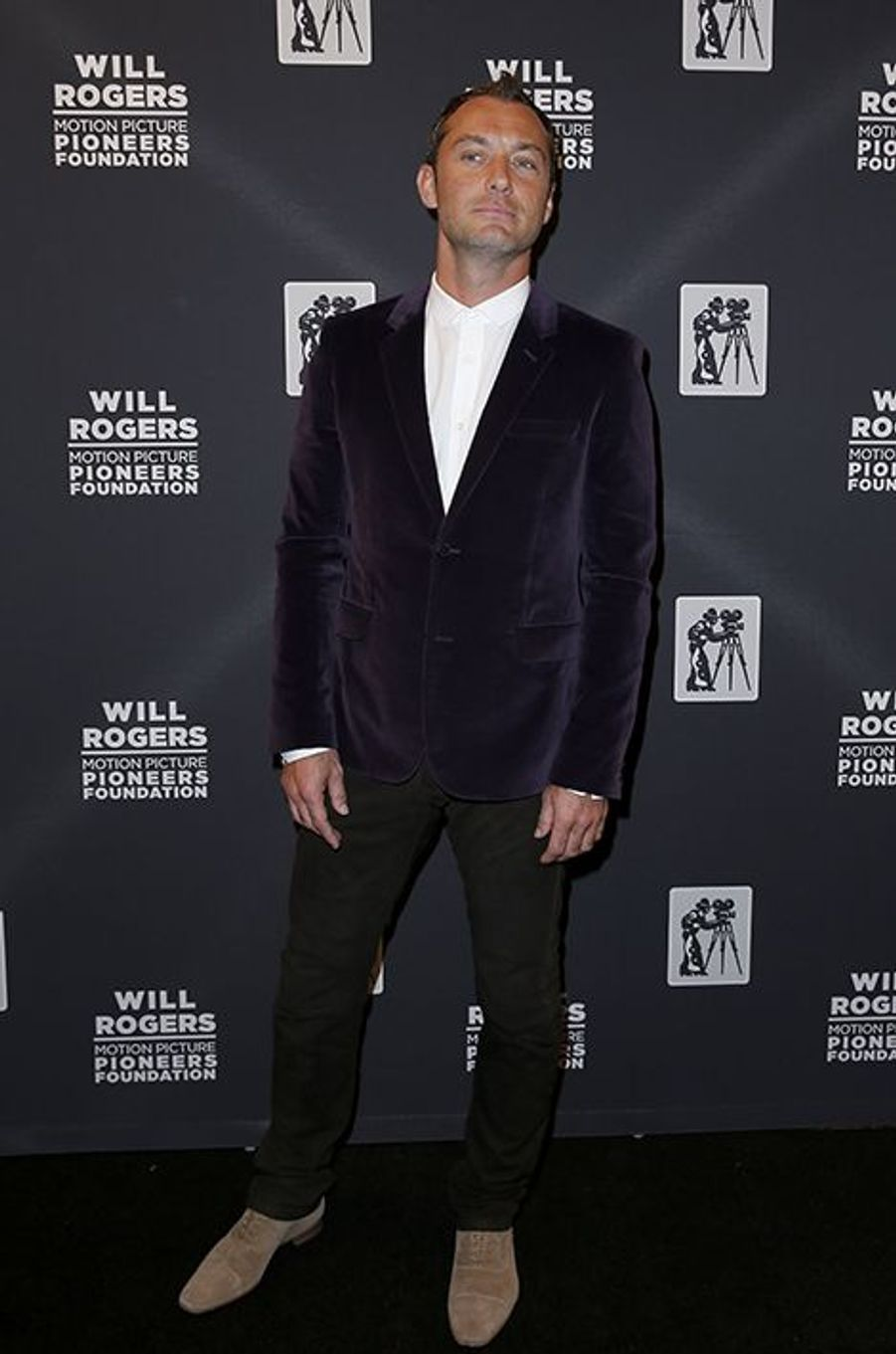 Jude Law à New York le 22 avril 2015