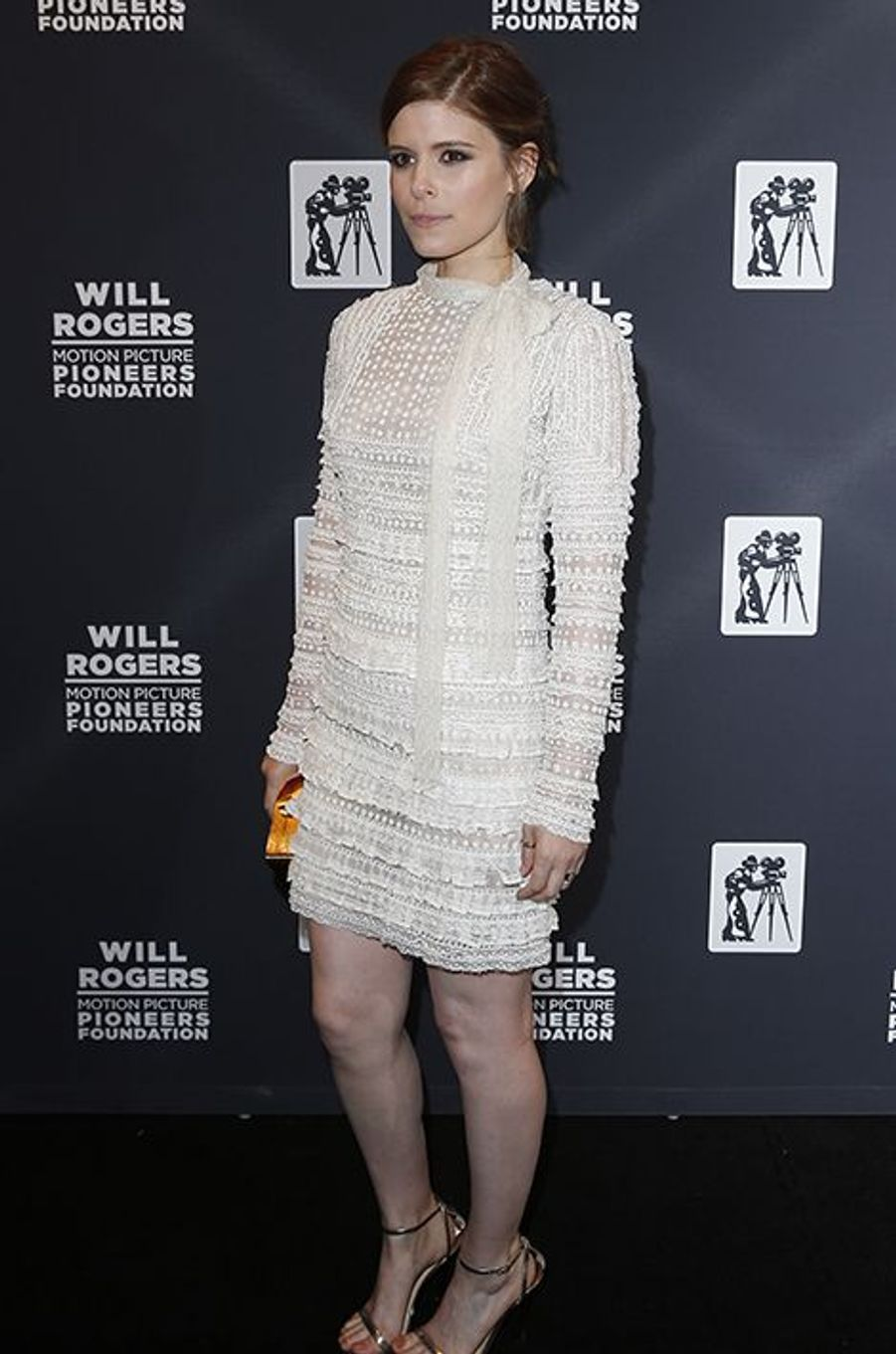 Kate Mara à New York le 22 avril 2015