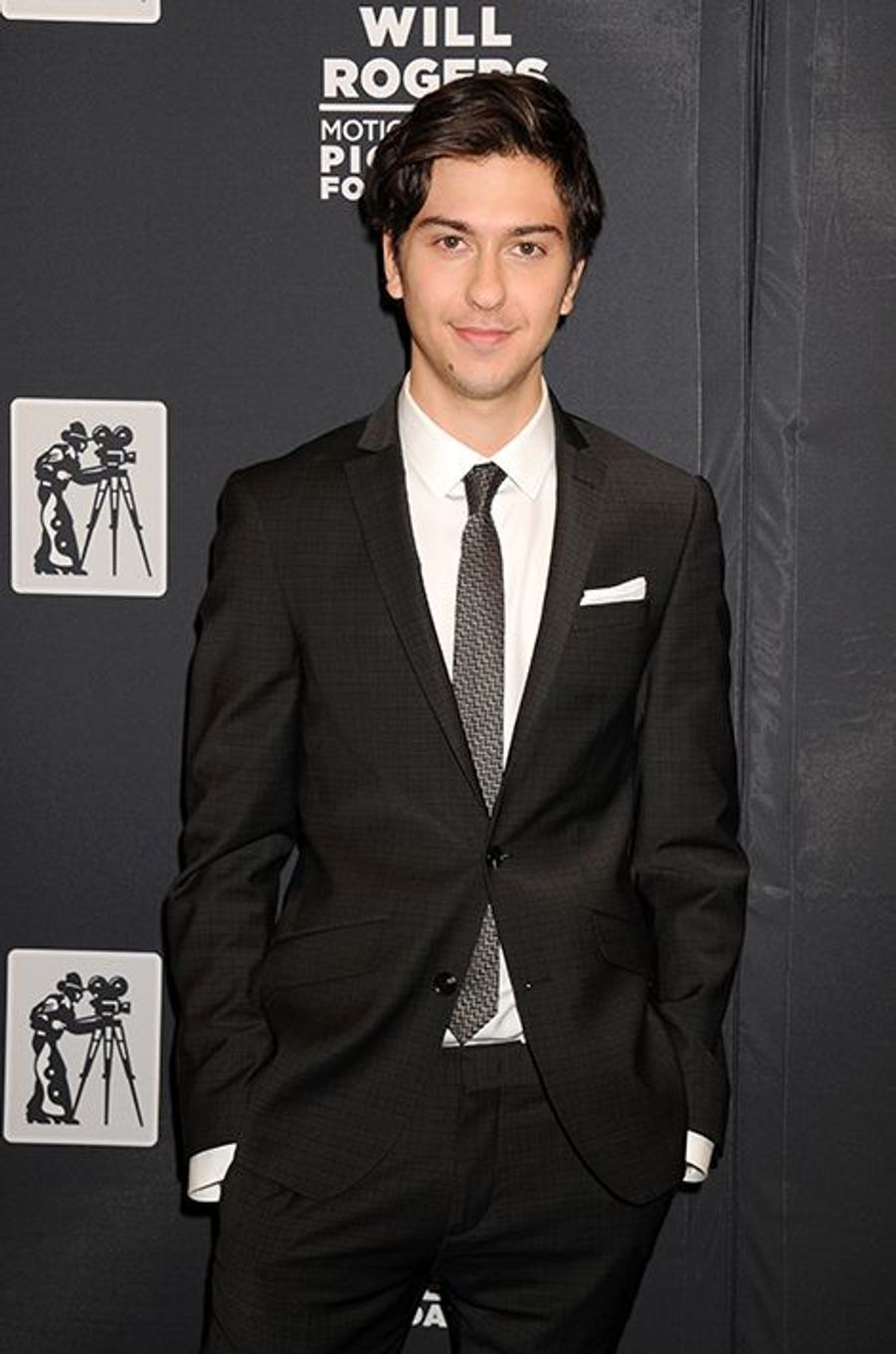 Nat Wolff à New York le 22 avril 2015