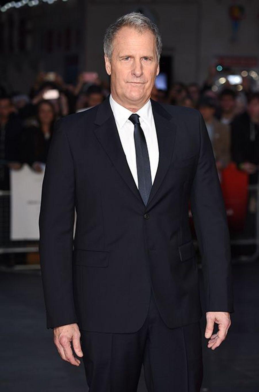 Jeff Daniels à Londres le 18 octobre 2015